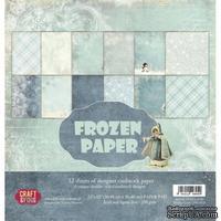 Набор скрапбумаги от Craft and You Design - Frozen Paper,  30х30 см, CPB-FP30, 12 листов