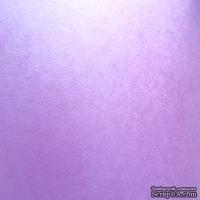 Дизайнерская бумага Brilliant star, 30х30 см, цвет: светлосиреневый, 120 г/м2, 1 шт