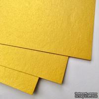 Дизайнерский картон с металлизированным эффектом Stardream gold, 30х30, 285 г/м2, 1 шт.