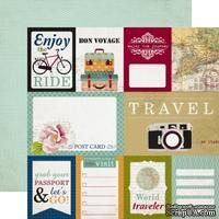 Лист скрапбумаги от Echo Park - Journaling Cards, 30х30см