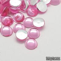 Прозрачные капли PearlPink, 6x3мм, цвет розовый, 20 шт. - ScrapUA.com