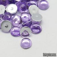 Прозрачные капли Lilac, 6x3мм, цвет сиреневый, 20шт.