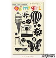 Акриловые штампы My Mind's Eye My Girl - Clear Acrylic Stamps
