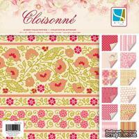 Набор скрапбумаги GCD Studios -Cloisonne - 12 двусторонних листов, размер: 20x20 см.