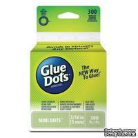 Клеевые капли Glue Dots - Mini - Roll, 300 штук, 5 мм, в рулоне