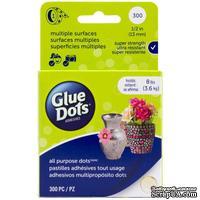 Клеевые капли Glue Dots - All Purpose Dots - Roll, 300 штук, 13 мм, в рулоне