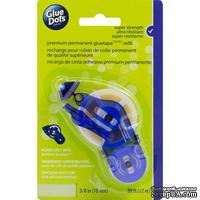 Заправка для двустороннего клеевой диспенсер Glue Dots - Premium Permanent GlueTape, 10 мм, 12 м