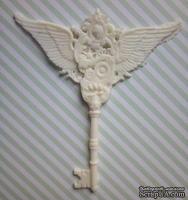 Гибкие пластиковые фигурки - Ключ с крыльями, 7х6см