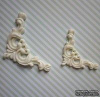 Гибкие пластиковые фигурки - Уголок правый (бол), 3,8х3,8см