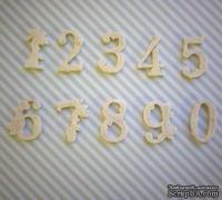 Набор гибких пластиковых фигурок - Цифры 0-9, высота 2 см, 10 шт.