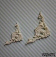 Гибкие пластиковые фигурки - Уголок левый (мал), 2,7х2,7см