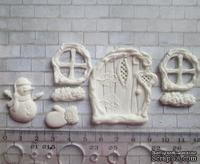 Набор гибких пластиковых фигурок - Зимняя сказка, 7 элементов