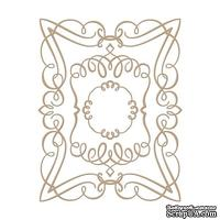 Пластины для фольгирования от Spellbinders - Elegant Rectangle