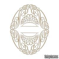 Пластины для фольгирования от Spellbinders - Elegant Oval