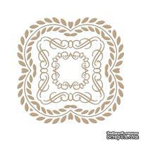 Пластины для фольгирования от Spellbinders - Elegant Square