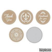 Пластины для фольгирования от Spellbinders - Elegant Foils Seals
