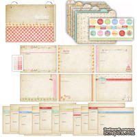 Набор для создания кулинарной книги -  Homemade Recipe Album Kit Kitschy Kitchen от Melissa Frances