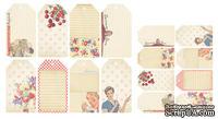 Набор тэгов Vintage Tags Kitschy Kitchen от Melissa Frances, 16 шт
