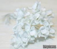 Украшение цветущая гортензия White Hydranga от Melissa Frances. Цвет белый