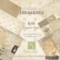 Набор бумаги от Melissa Frances - Attic Treasures - 15х15 см
