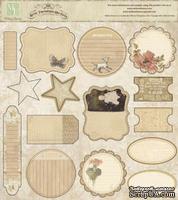 Высечки Melissa Frances - Attic Treasures Die Cuts, 15 шт - ScrapUA.com