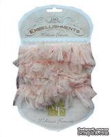 Ленточка от Melissa Frances - Organza Pouf Ribbon - Pink, цвет розовый, длина 90 см, 1 шт.