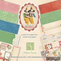 Набор новогодней бумаги от Melissa Frances - Countdown, 15x15, 30 л.