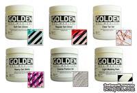 Стартовый набор медимов и паст от Golden - Gel Mediums and Molding Pastes Introductory Kit