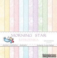 Набор бумаги Galeria Papieru - Jutrzenka - Утренняя заря, 30,5 x 30,5 см, 6 листов