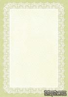 Двусторонний лист бумаги от Galeria Papieru - Little Women МК3, 10х14.5см