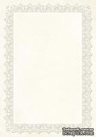 Двусторонний лист бумаги от Galeria Papieru - Little Women МК4, 10х14.5см