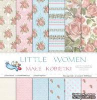 Набор бумаги от Galeria Papieru - Little Women, 30x30, 12 листов