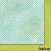 "Двусторонний лист скрапбумаги от Galeria Papieru - ""Deszczowa piosenka"" - Singin In The Rain - 04, 30х30 см"