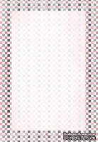 Лист двусторонней скрапбукинга от Galeria Papieru - UP 4, 10 х 14,5 см