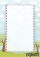 Двусторонняя бумага скрапбукинга от Galeria Papieru - LT 2, 10 x 14,5 см