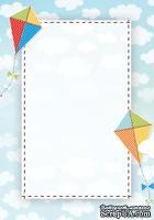 Двусторонняя бумага скрапбукинга от Galeria Papieru - LT 3, 10 x 14,5 см
