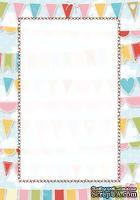 Двусторонняя бумага скрапбукинга от Galeria Papieru - LT 4, 10 x 14,5 см