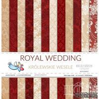 Набор двусторонней скрапбумаги от Galeria Papieru - Королевская свадьба,30,5х30,5 см