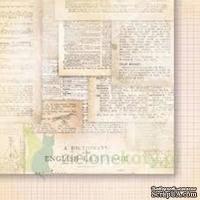 Лист двусторонней скрапбумаги от Galeria Papieru - изучение жизни 01,30,5х30,5 см - ScrapUA.com