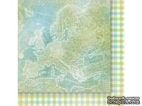 Лист двусторонней скрапбумаги от Galeria Papieru - изучение жизни 03,30,5х30,5 см - ScrapUA.com