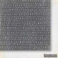 Лист двусторонней скрапбумаги от Galeria Papieru - изучение жизни 05,30,5х30,5 см