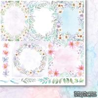 Лист двусторонней скрапбумаги от Galeria Papieru - Мимолетные моменты 06,30,5х30,5 см - ScrapUA.com