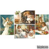 Двусторонний лист с картинками от Galeria Papieru, 5х30 см, Дети 5, 1 шт. - ScrapUA.com
