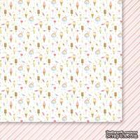 Двусторонний лист бумаги от Galeria Papieru  - Wet Paint - Balonik dla siostrzyczki 01