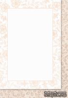 Двусторонняя подложка от Galeria Papieru, 10х14,5см, цвет розовый - KP-05