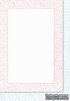 Двусторонняя подложка от Galeria Papieru, 10х14,5см, цвет розовый||голубой - KP-09