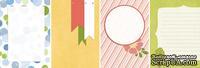 Лист двусторонней скрапбумаги от Galeria Papieru - ROP 1