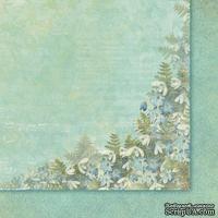 Лист бумаги от Galeria Papieru - Uslane Rozami II 02, 30,5x30,5 см