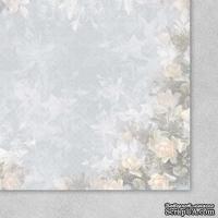 Лист бумаги от Galeria Papieru - Uslane Rozami II 04, 30,5х30,5 см - ScrapUA.com