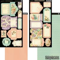 Высечки Graphic 45 - Sweet Sentiments - Tags and Pockets